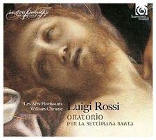LUIGI ROSSI: ORATORIO PER LA SETTIMANA SANTA NEW CD