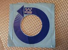 Rare original U.K. Westbound record sleeve cover.