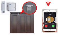 Call Back SMS GSM voce MAGNETICO PORTA FINESTRA ALLARME SENSORE Home Security Argento