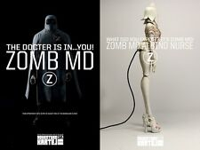 ThreeA 3A Ashley Wood AK ZOMB MD AND ALBINO NURSE SET - TK TQ JC TKLUB