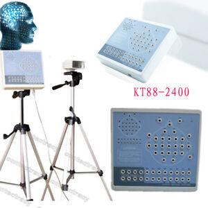 CONTEC Digital 24 channels EEG Brain Electric Activity Mapp,2 Tripod,PC software