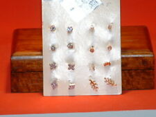 New 8PC A New Day Earring Set