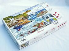 HOP HOUSE OF PUZZLES JIGSAW 1000 PIECES LIFEBOATS RESCUE COMPLETE