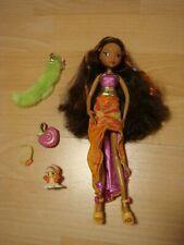 Winx Club Puppe Layla Aisha + Pixie Staffel Season 1 Mattel Dance Night Dolls
