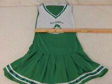 GO GREEN Recycling Polyester Halloween One Size Fits Most Green Cheer Uniform