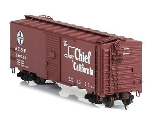 "Red Caboose - RR-38100-9 - Santa Fe ""Super Chief"" AAR Single Door Box Car-138382"