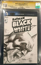 IVAN REIS ORIGINAL Sketch Art SS CGC 9.8 Signed Batman Harley Quinn Joker