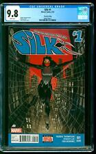 Silk 1 CGC 9.8 NM/MINT Cindy Moon 1st Dragonclaw Dave Johnson cover 2nd Print