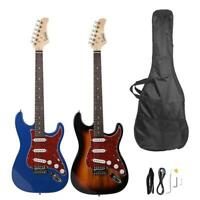 Glarry GST3 22 Fret Maple Fingerboard Electric Guitar Sunset/Blue