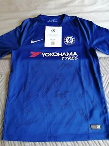 Signed Chelsea Shirt 2018/2019 with C.O.A.