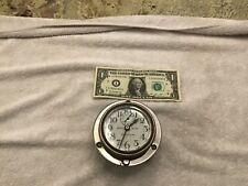 Antique Chelsea ? Automobile Clock, Nickel Bezel Wind Usa