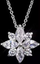 Modeschmuck Damen Kette Dünn Halskette Mit Anhänger Modeschmuck Stern Silbern