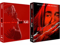 A Quiet Place  4K UHD & Blu-ray Steelbook Full Slip, Lenticular