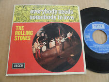 """45T DE THE ROLLING STONES  """" EVERYBODY NEEDS SOMEBODY TO LOVE """""""