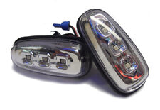 For Vauxhall Zafira A 99-05 LED Full Chrome Side Repeaters Indicators Blinkers