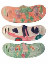 Kids Face Covering Mask Using Their Art For The Mask! Washable, Reusable! Gift!