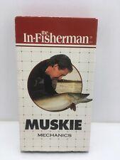 In-Fisherman Muskie Musky Mechanics Vhs Vintage 1994 Lake
