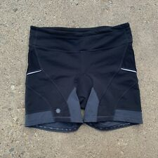 Athleta Womens Black Cycling Shorts Size Large