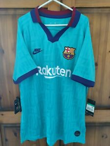 FC Barcelona Football Shirt Nike Dri Fit Away 2019/20 XL BNWT