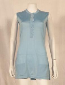60'S 'MONTAGUT - PARIS' FRENCH VINTAGE TUNIC / MINI-DRESS UK 10 / FR 38