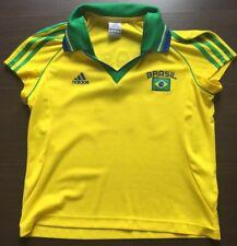 Brazil Brasilien Adidas Retro Trikot Damen Women gr.42 Nr. 10
