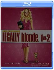 LEGALLY BLONDE 1 / LEGALLY BLONDE 2    -  Blu Ray - Sealed Region free for UK