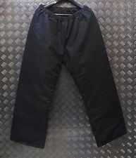 Genuine British Issue Navy SIOEN Padded Cold Wet Weather Winter Trousers L NEW