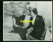 GENE TIERNEY LOUELLA PARSONS VINTAGE 8x10 PHOTO ON SET 1945 BELL FOR ADANO