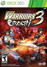 New! Warriors Orochi 3 Xbox 360 Free Shipping Action Hack n Slash