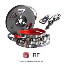 1 M 5050 RGB LED Tira USB Kit de iluminación con cambio de color-TV, piezas Luz de Fondo