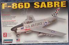 U S Air Force F-86D Saber Fighter Jet 1/48 Scale Plastic Model Kit
