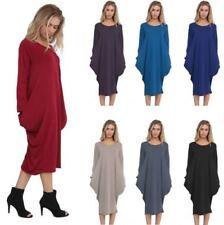 Long Sleeve Oversize Plus Size Dresses for Women