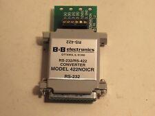 B&B Electronics Rs-232/Rs-422 Model 422Noicr Converter New