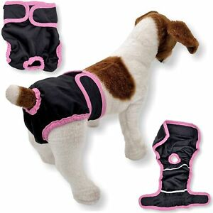 LEAK PROOF Female Dog Diapers Period Pants Washable Puppy Cat Small Large Pet