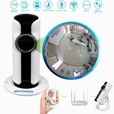 US Wireless 180° Fisheye WIFI 720P IP Camera HD Security Network IR Night Vision