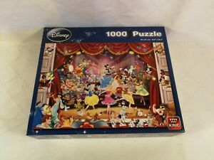 King 1000 Piece Jigsaw Puzzle Disney * Disney Theatre * 5113 * COMPLETE