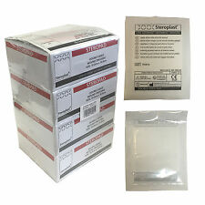 Case of 100 Steroplast Steropad Sterile Low Adherent Wound Dressing Pad 10x10cm