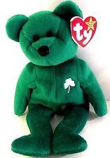 """Ty Beanie Baby """"Erin"""" Te Irish Bear mint, retired"""