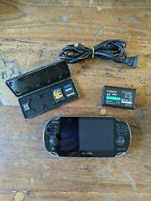 Sony PlayStation PS Vita Black (PCH-1001)PSVITA PCH 1001 W/charger 2 Game 16 GB