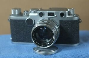 Leica IIf with Canon Lens