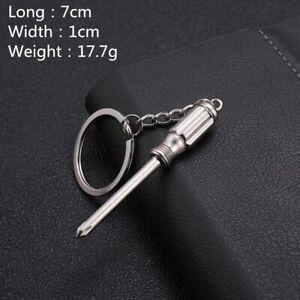 Hot Keychains For Men Car Bag KeyRing Combination Tool Portable Mini Utility