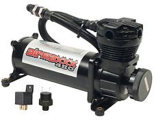 Air Ride Compressor 480 Black Air Bag Suspension System Relay & Pressure Switch