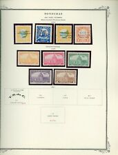 HONDURAS Scott Specialty Album Page Lot #17 - SEE SCAN - $$$