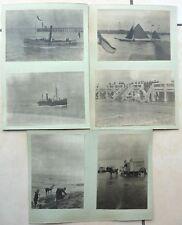 45 photos BELGIQUE OSTENDE BRUGES ANVERS cabane de bain bateaux cuirassé courses