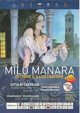 MILO MANARA locandina Tiferno Comics 2006  formato A4