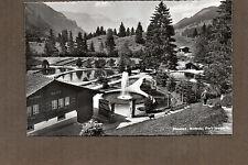 Switzerland Real photo mitholz Blue lake trout farm 1950's unposted