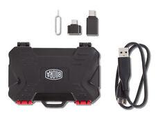 BILORA Kartenleser Speicherkarten Safe Cardreader mit Kabel USB 3.0 Travel Safe
