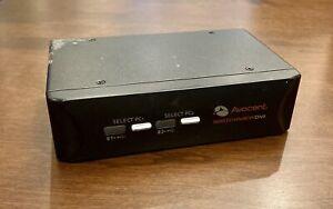 Avocent Switchview DVI 2 Port KVM Switch #2SVDVI10 & AC-DC Adapter Works Great!