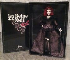 RARE LA REINE DE LA NUIT 2013 CONVENTION BARBIE DOLL PLATINUM LABEL X8285 NRFB
