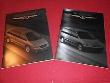 2000 CHRYSLER VOYAGER CATALOG and CHRYSLER TOWN & COUNTRY PRESTIGE BROCHURE